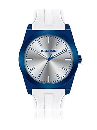 K&BROS Reloj 9560 (Azul Blanco)