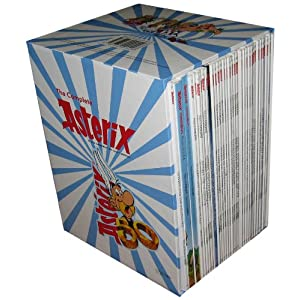 The Complete Asterix Comic Books Set for Kids - 34 Volumes