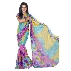 Eyeful Printed Saree For Women