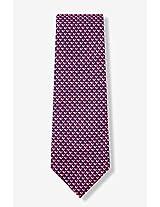 Men's 100% Silk Navy Blue Micro Hearts Love Necktie Neck Tie Neckwear