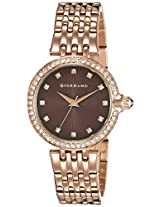 Giordano Analog Brown Dial Women's Watch - 2752-66