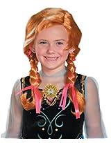 Child Anna Wig Frozen Costume Wig 82467