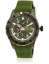 Nta14693G Olive Analog Watch