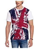 Elaborado Men's T-Shirt, White, XXLarge, EAIS5028WH5