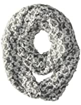 D&Y Women's Two Tone Checkerboard Knit Loop