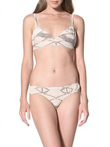 La Fee Verte Women's Silk Panty (Labryinth)