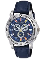 Nautica Sports Analog Blue Dial Men's Watch - NTA19597G