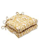 Pillow Perfect Babar Topaz Reversible Chair Pad, Set of 2