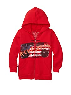 Lords of Liverpool Kid's Revolution Hoodie (Red)