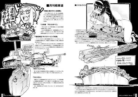 別冊ガルパン戦車読本 ガルパン軍事読本01