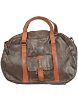 LEE LEATHER 7 Ltrs Brown Beach Tote Bag