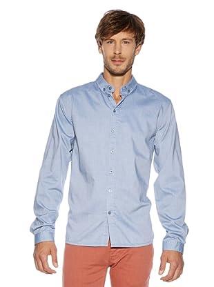 Solid! Camisa Casual (Azul)