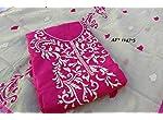Chanderi Silk Dress Material With Dupatta