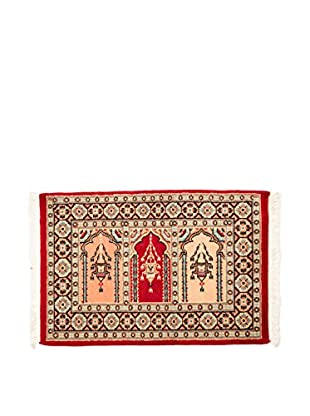 RugSense Alfombra Kashmir Rojo/Multicolor 95 x 62 cm