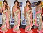 Priyanka White Light Pink Saree KS