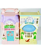 Fisher Price Sweet Streets Pet Shop Beauty Salon Playhouse Only