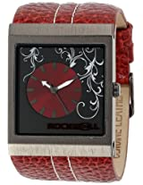 Rockwell Rockwell Time Unisex Mc110 Mercedes Red Leather And Red Watch - Mc110