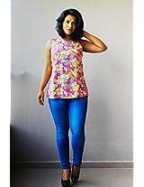 Madhurima Bhattacharjee Pink Shell Top