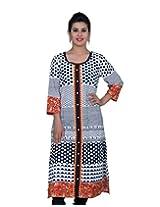 Chhipa 100% Cotton Women White Kurta(2277_White_40)