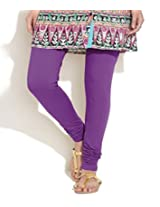 Lux Lyra Women's Churidar Leggings - Purple Heart