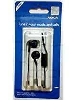 Nokia WH-108 Wired Headset (Black)