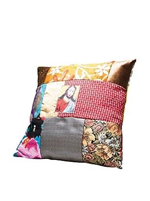 Kare Design Cojín Holy Patchwork 45 X 45 Cm