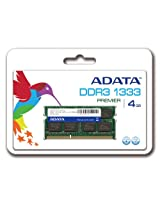 ADATA Premier DDR3 1333MHz 4GB Memory Modules (AD3S1333C4G9-R)
