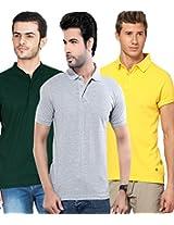 Concepts Men's Casual Shirt (TSHT_C3_YWGYBG_Multi_40)
