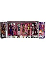 Monster High Bundle 7 Student Disembody Council And Clawdeen Wolf And Gigi Grant