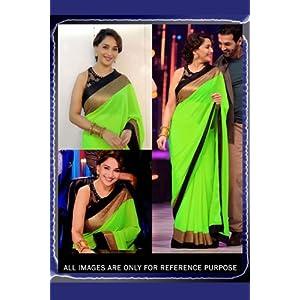 MishreeSaree Madhuri Dixit Bollywood Replica Saree