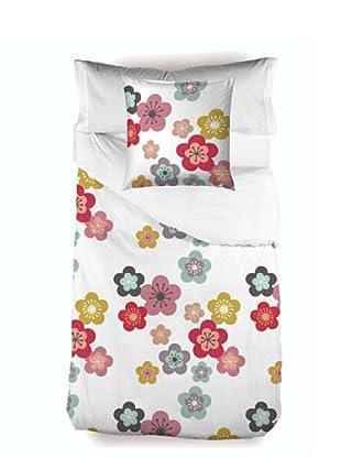 Little W Juego de Funda Nórdica 3 piezas Blossom (Multicolor)