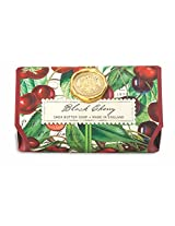 Michel Design Works Black Cherry Oversized Triple Milled Bath Soap Bar