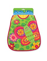 Stephen Joseph Wipeable Bib, Butterfly