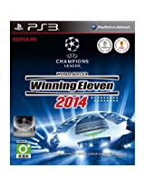 World Soccer Winning Eleven 11 2014 NEW SEALED PS3 14 GAME (English/Japanese Voice & English / Chinese Subtitles) [Region Free Edition] [PlayStation 3]
