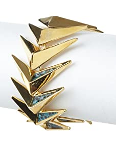 Kara Ross Lizard Arrow Bracelet