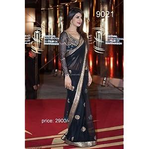Indian Ethnic Designer Bollywood Party Wear Saree Sari Traditional Women Wedding