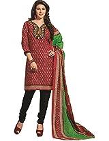 RGN Retails Cotton Unstitched Dress Material For Salwar Suits Kameez RGN-1556