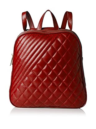 Zenith Women's Quilted Backpack, Wine