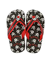 Stephen Joseph Pirate Toddler Flip Flops, Multi Color
