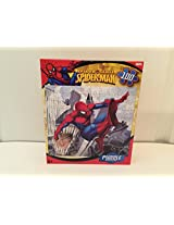 Puzzle Spider Man Swinging In City 100 Piece