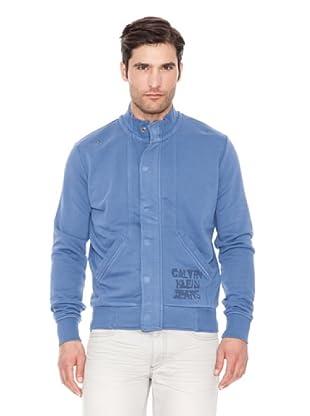 Calvin Klein Jeans Sudadera Vintage (Azul)