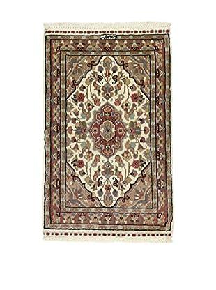 Eden Teppich Kashmirian braun/mehrfarbig 61 x 95 cm