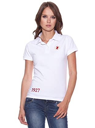 Polo Club Poloshirt Orange (Weiß)