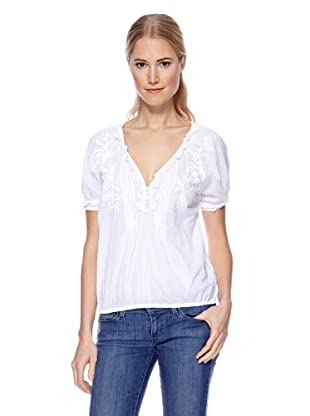 Magic Woman Blusa Bordado (Blanco)