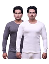 Selfcare Set Of 2 Men's Full Sleeve Thermal Top