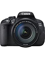 Canon EOS 700D 18MP Digital SLR Camera (Black) with 18-135mm STM Lens and Memory Card and Camera Bag