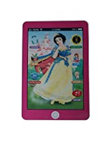 Kids Educational Tablet Pad With 3D Screen Stories, Lullaby, Music And Flashing Light