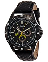 Timex Sports Analog Black Dial Men's Watch - T2N520