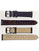 Invicta Genuine 16mm Blue Cobra Leather Watch Strap IS249