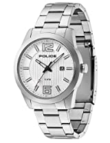Police White Steel Analog Men Watch - 10013406JS/04Mᅵᅵᅵᅵᅵᅵᅵᅵᅵᅵ